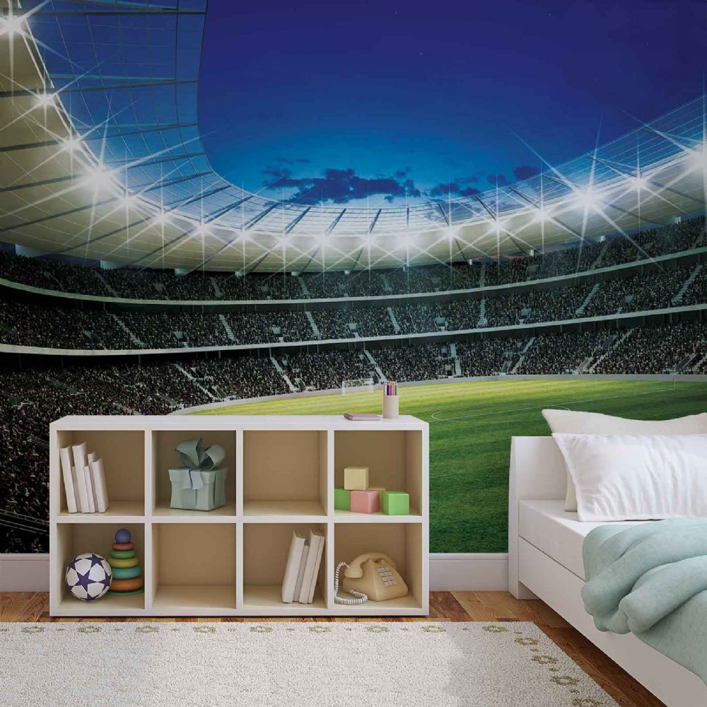 Giant Size Wall Mural Wallpapers Football Stadium